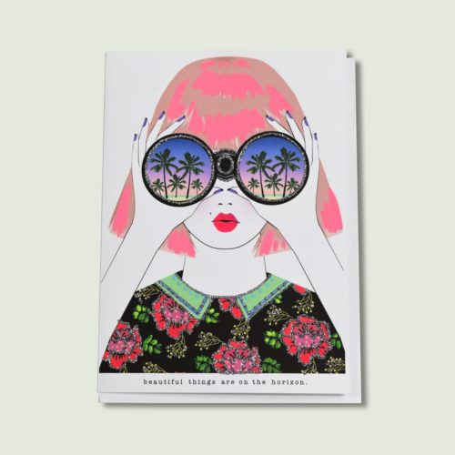 Verrier Card - Beautiful Things Are On The Horizon
