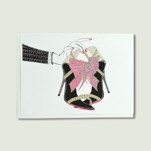 Verrier Card - Holy Chic (Pink)