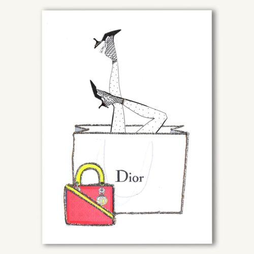 Verrier Card - Head Over Heels (Dior)