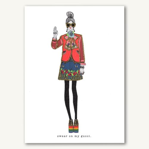 Verrier Card - Swear On My Gucci