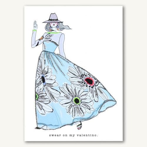Verrier Card - Swear On My Valentino