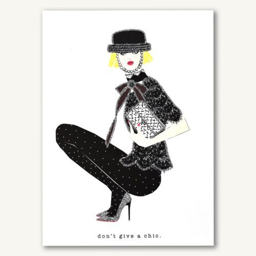 Verrier Card - Don't Give A Chic
