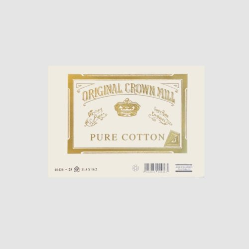 Original Crown Mill Pure Cotton Envelopes 25 Pack - C6