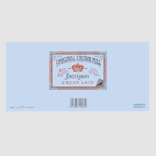 Original Crown Mill Laid Paper Envelopes 25 Pack – DL Blue