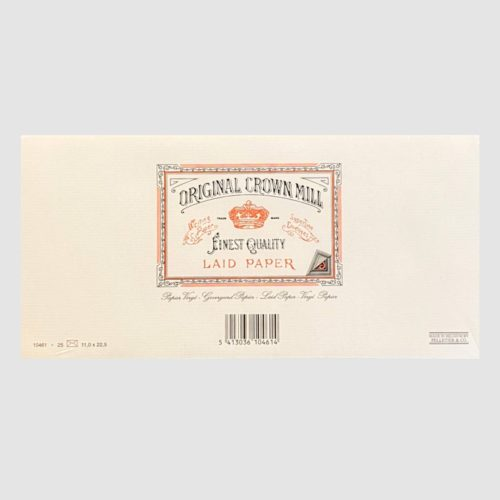 Original Crown Mill Laid Paper Envelopes 25 Pack – DL Cream