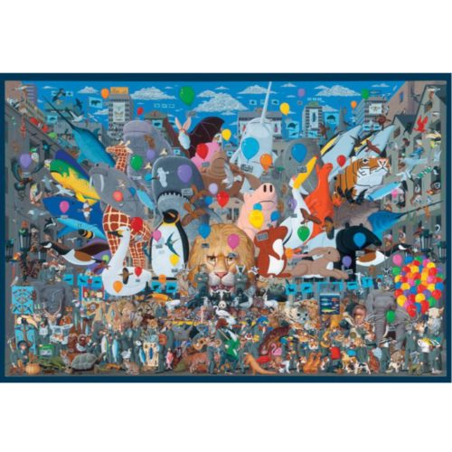 Pomegranate 1000 Piece Puzzle - Ultimate Noah's Ark by Mike Wilks