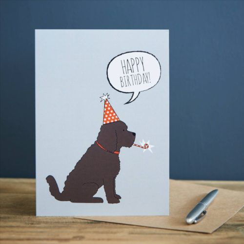 Sweet William Card - Cockapoo Happy Birthday