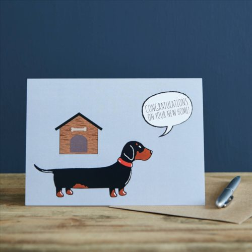 Sweet William Card – Dachshund New Home
