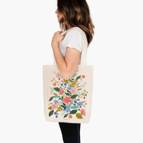 Rifle Paper Co. Tote Bag - Floral Vines
