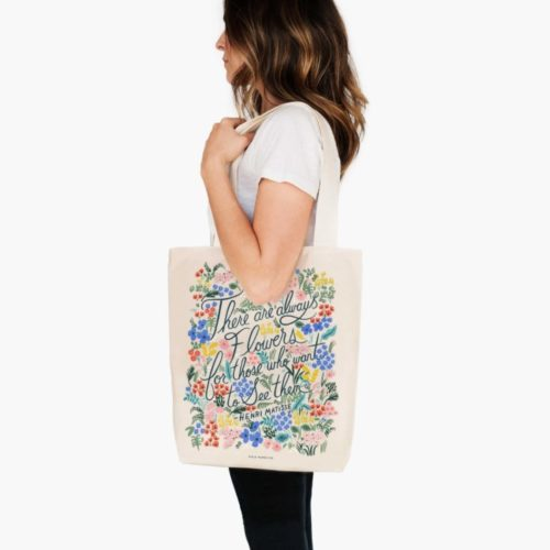 Rifle Paper Co. Tote Bag - Seeing Flowers