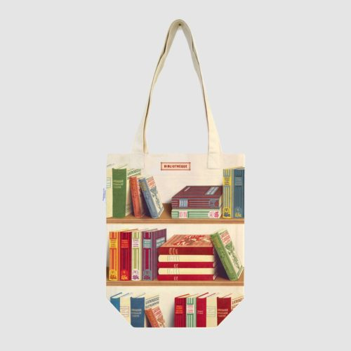Cavallini & Co. Vintage Tote Bag - Library Books