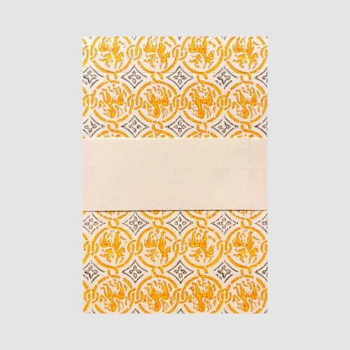 Medioevalis Writing Pad – Cream A5