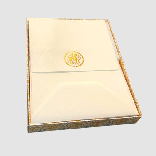 Medioevalis Boxed Sheet and Envelope Set - Cream