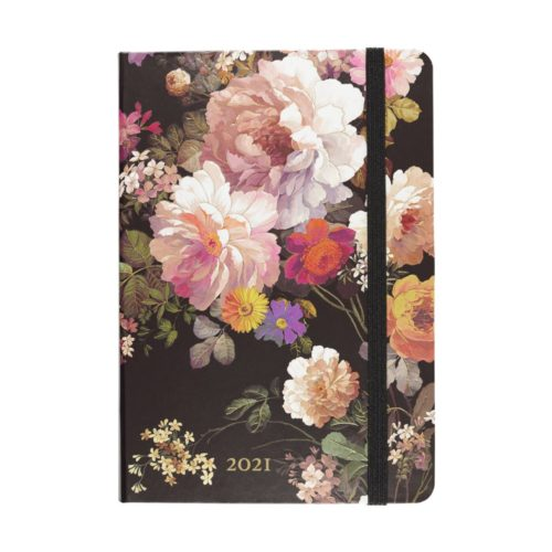 Peter Pauper Press 2021 Compact Diary - Midnight Floral