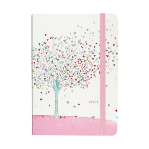 Peter Pauper Press 2021 Compact Diary - Tree of Hearts