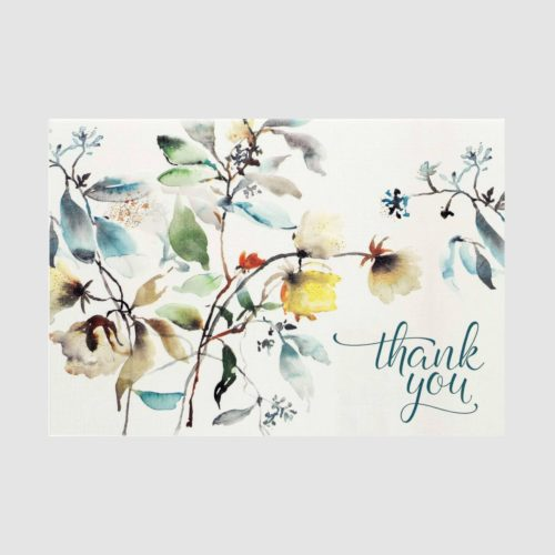 Peter Pauper Press Boxed Thank You Note Cards - Asian Botanicals
