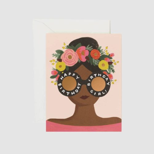 Rifle Paper Co. Card - Flower Crown Birthday Girl