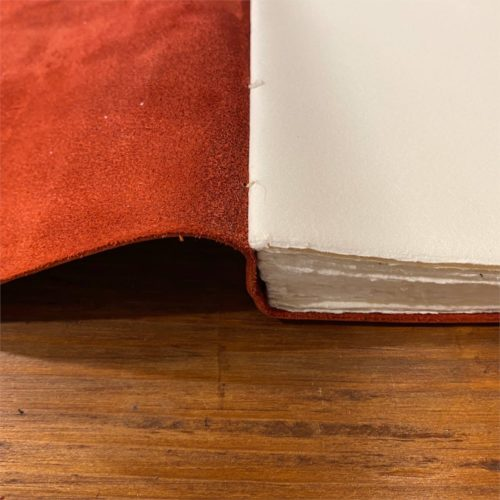Amalfi Leather Journal - Red Large