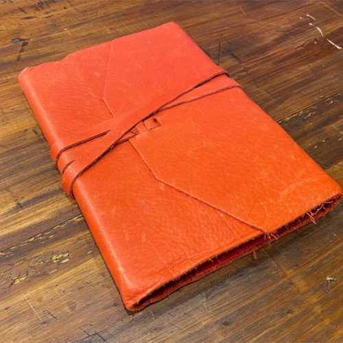 Tuscany Leather Journal - Red Large