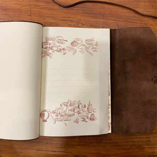 Leather Recipe Journal