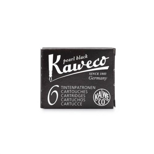 Kaweco Fountain Pen Ink Cartridges Pack of 6 - Black
