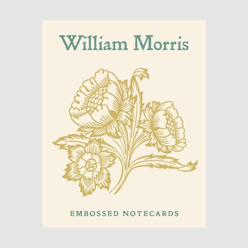 Pomegranate Boxed Cards - Embossed William Morris