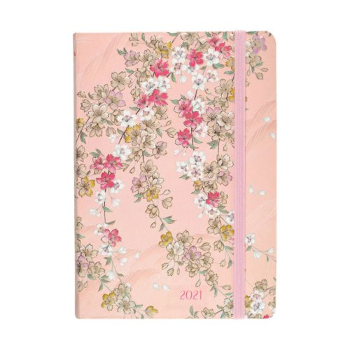 Peter Pauper Press 2021 Compact Diary - Cherry Blossoms