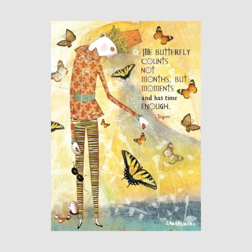 Sacred Bee Card - The Butterfly