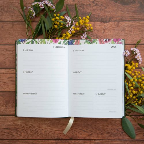 Negin Maddock 2021 Diary - Forest Green