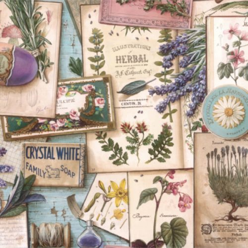 Bomo Paper - Provence and Herbs