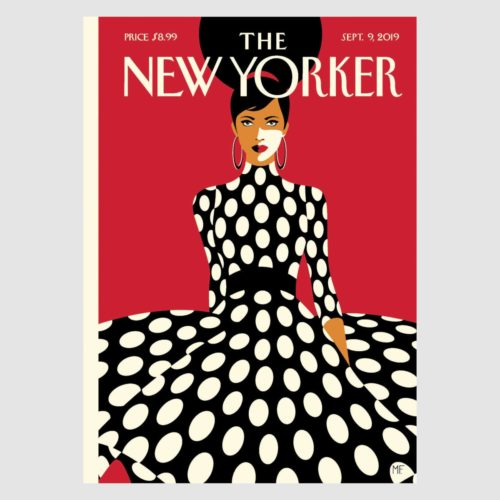 The New Yorker Card - Sweeping Into Fall
