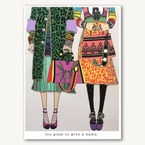 Verrier Card - Too Glam To Give A Damn