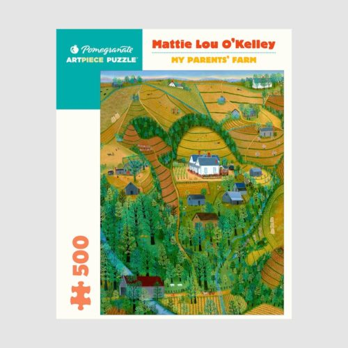 500-Piece Jigsaw Puzzle - Mattie Lou O'kelley: My Parents' Farm