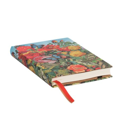 Paperblanks 2021 Horizontal Weekly Diary - Butterfly Garden Mini