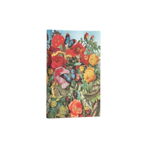 Paperblanks 2021 Verso Weekly Diary - Butterfly Garden Mini