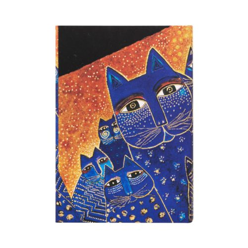 Paperblanks 2021 Horizontal Weekly Diary - Mediterranean Cats Mini