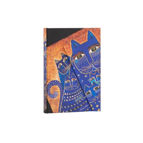 Paperblanks 2021 Verso Weekly Diary - Mediterranean Cats Mini