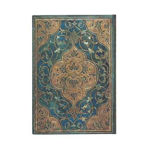 Paperblanks 2021 Vertical Weekly Diary - Turquoise Chronicles Midi