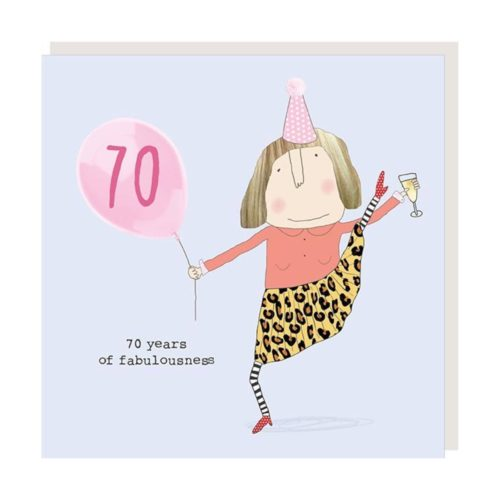 Rosie Made A Thing Card - Girl Fabulous 70