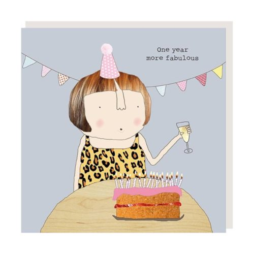 Rosie Made A Thing Card - One Year More