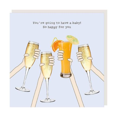 Rosie Made A Thing Card - Pregnant Cheers
