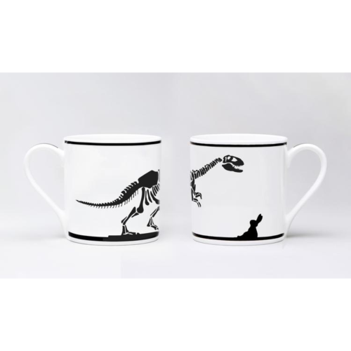 HamMade Fine China Mug - Dinosaur Rabbit