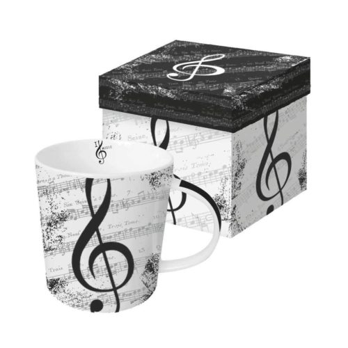 Paper Products Design Mug - I Love Music