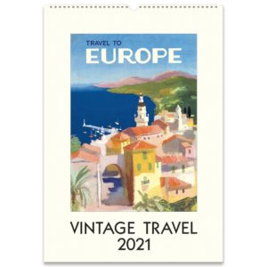 Cavallini & Co. 2021 Wall Calendar – Travel to Europe