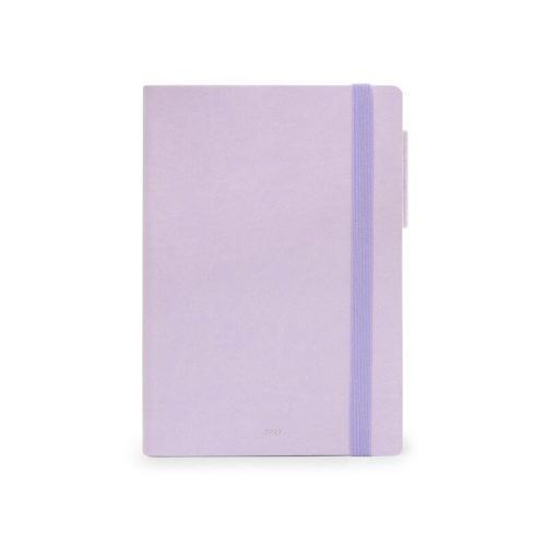 Legami 2021 Medium Weekly Diary with Notebook - Lilac