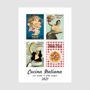 IFI Medium 2021 Wall Calendar – Cucina Italiana