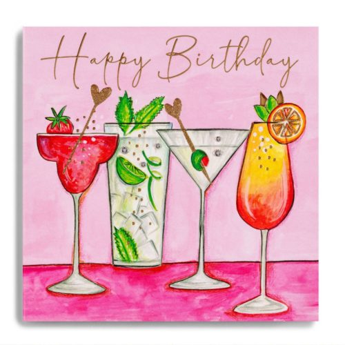Macaroon Card - Cocktails