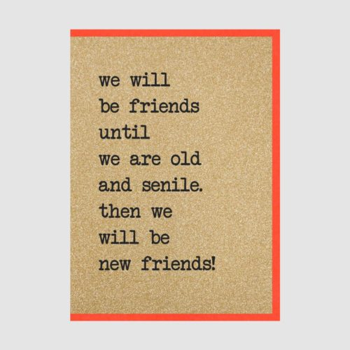 Counting Stars Card - Friends