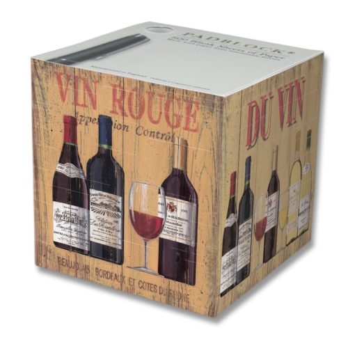 Notepad Cube 800 Sheets - French Wine