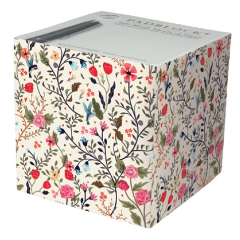 Notepad Cube 800 Sheets - Little Flowers